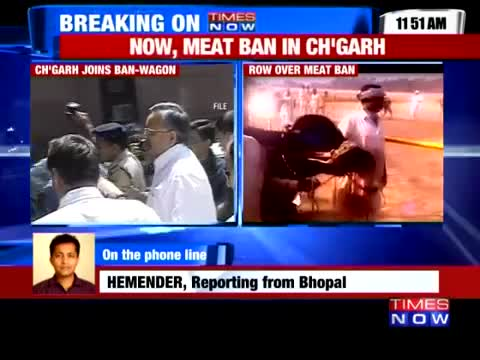 Chhattisgarh govt orders 8-day Meat Ban
