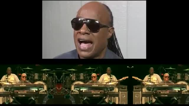 Isn't He Lovely? Stevie Wonder Performs Free Gig