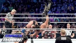 Seth Rollins vs. Ryback - Champion vs. Champion Lumberjack Match: WWE SmackDown, September 10, 2015