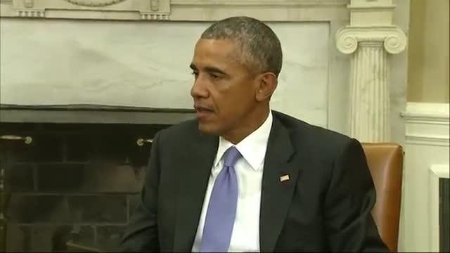 Obama, Spanish King Discuss Migrant Crisis