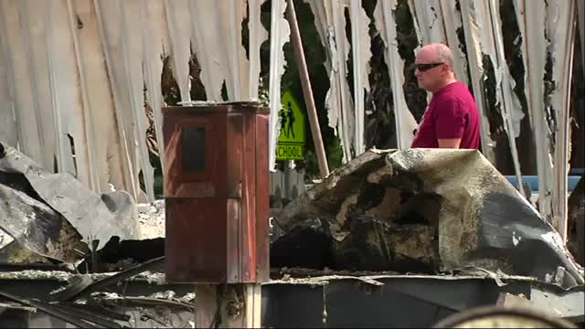 Residents Return to Find Homes Reduced to Ash