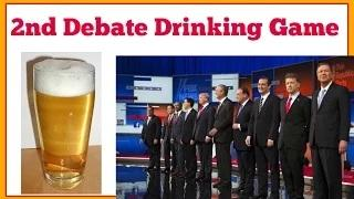 Drinking Game for 2nd Republican Debate 2016 at Reagan Library on CNN