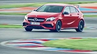 2016 Mercedes-AMG A 45 4MATIC - Test on Racetrack