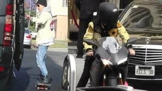 Justin Bieber Insane Daredevil Stunts Compilation