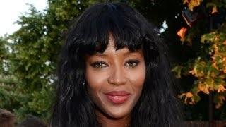 Naomi Campbell's Bare Breast Selfie