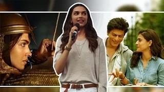 Bajirao Mastani Vs Dilwale | Deepika Padukone ReactsBajirao Mastani Vs Dilwale | Deepika Padukone Reacts