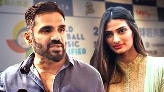Suniel Shetty REACTS On Athiya Post 'Hero' Releasec