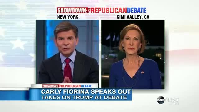 Republican Debate 2015 | Carly Fiorina 'Satisfied' with GOP Debate