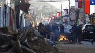 Chile earthquake: 1 million evacuated, 8 dead after huge earthquake strikes the country