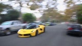 Ferrari Caught Racing In LA Neighborhood