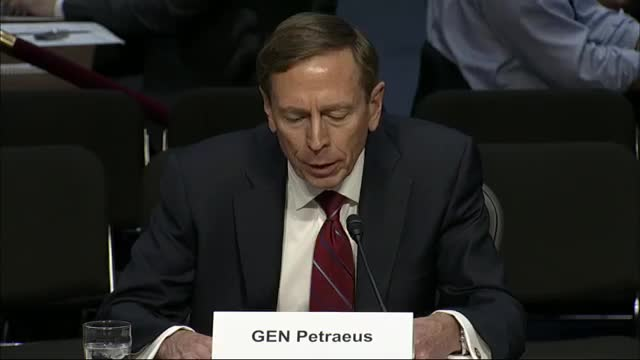 Petraeus: 'Sorry' for Sharing Classified Info