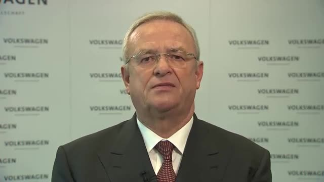 Video statement Prof. Dr. Martin Winterkorn, CEO of Volkswagen
