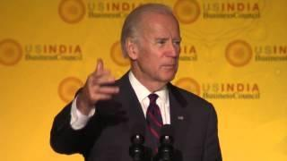 Vice President Biden at U.S.-India Strategic & Commercial Dialogue