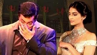 Salman Khan Cries Because Of Sonam Kapoor | On The Sets Of PRDP