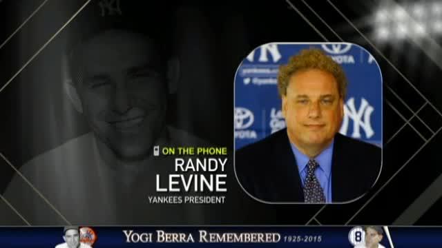 Randy Levine remembers Yogi Berra