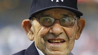 NY Yankee Legend YOGI BERRA Dies at 90