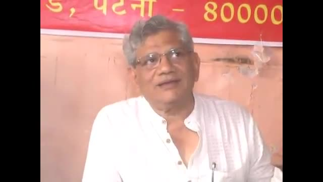 Bihar polls: RSS working to divide people on caste lines for political gains, says Sitaram Yechury