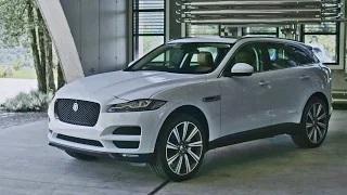 2016 Jaguar F-Pace - Interior and Exterior Design