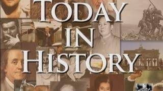 Today in History for September 25th Video