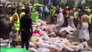Hundreds dead in Mecca stampede during Eid al-Adha