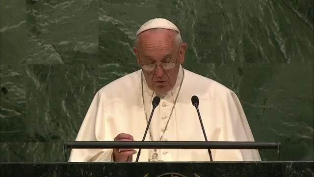 Pope Francis Addresses UNGA