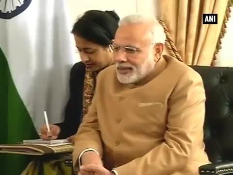 PM Modi meets Bhutan PM Tshering Tobgay in New York