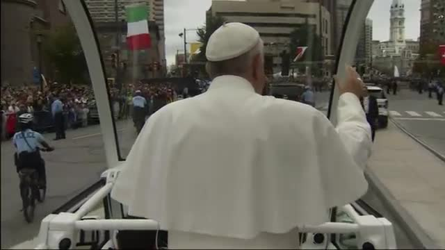 Pope Blesses 'Grotto of Knots'