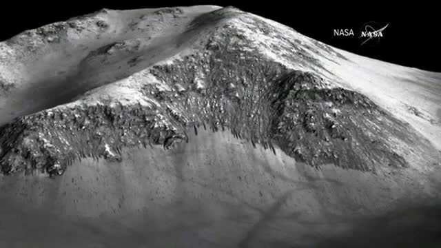 NASA: During Summer, Salty Water Flows on Mars