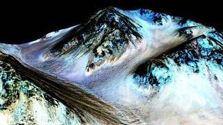NASA Discovers Liquid Water On Mars & Hosts Mars Housing Challenge