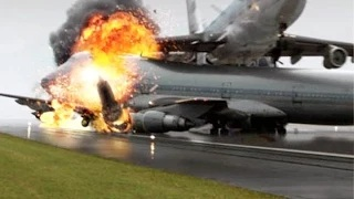 TOP 10 WORST PLANE CRASHES CAUGHT ON CAMERA