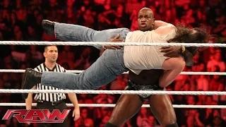 The Prime Time Players vs. Luke Harper & Braun Strowman: WWE Raw, Sept. 28, 2015