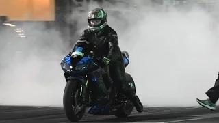 JUGGALO RACING KAWASAKI ZX10R NINJA 9.97 @ 146 MPH SYDNEY DRAGWAY