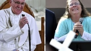 Davis' Attorney Details Meeting with the Pope