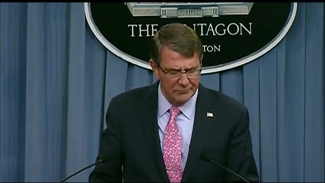 Ash Carter: Russian air strikes in Syria probably not in Islamic State areas