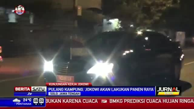 Jokowi Pulang Kampung Sambil Kunker ke Sukoharjo