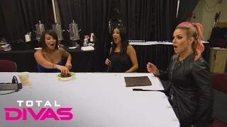 Natalya jokes around with the Divas in catering: WWE Total Divas Bonus Clip, September 29, 2015