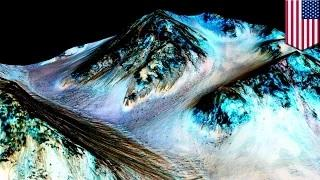 NASA finds evidence of liquid water on Mars, boosting hopes of finding life beyond Earth