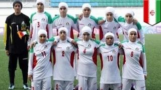 Iran's women soccer: men playing as women in $ex and gender sports controversy