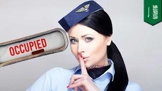 Airplane $ex: 'Mile High Club' flight attendant busted for paid bathroom sessions