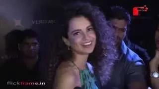 Kangana Ranaut unveiling the limited collection of Vero Moda