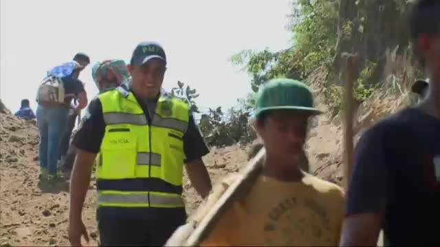 Raw: Death Toll Climbs After Guatemala Landslide