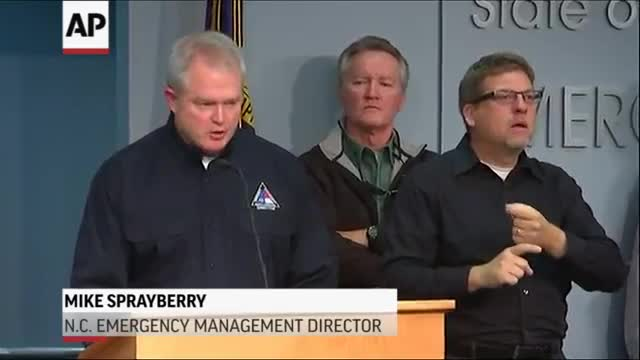NC Officials: 'More Rain Coming'