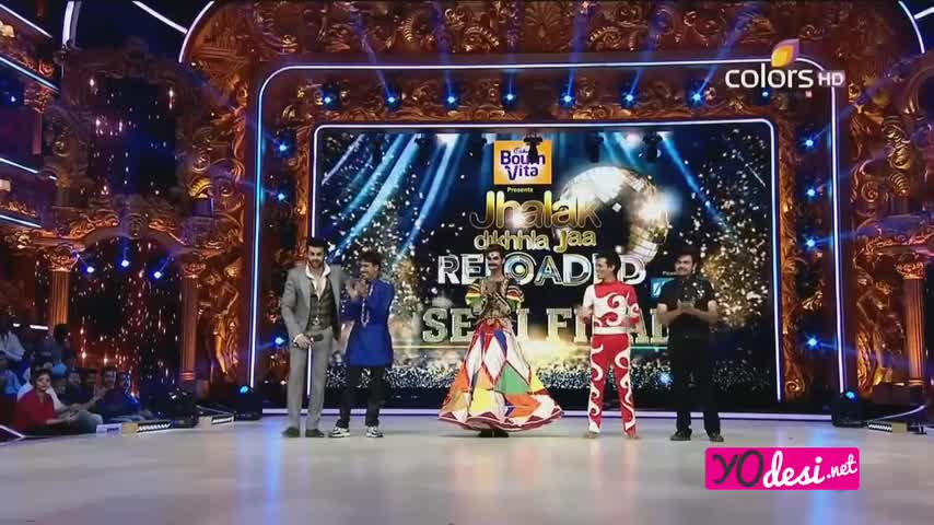 Jhalak Dikhhla Jaa 8 - 4th October 2015 - Part 1/4