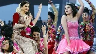 Aishwarya Rai & Alia Bhatt Hot Performance At ISL 2015 Opening Ceremony