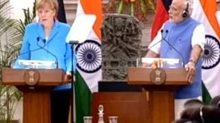 PM Modi & German Chancellor at Robert Bosch Engineering & Innovation Factoryc