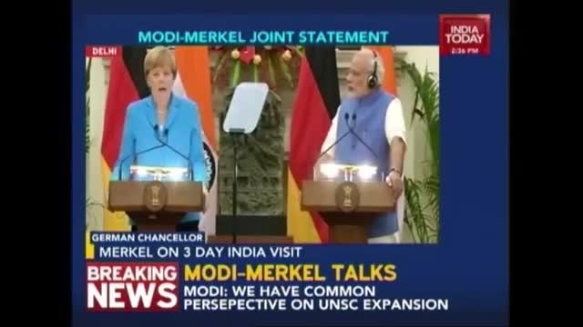Modi-Merkel Issue Joint Statement
