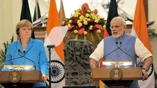 PM Modi's statement to the media with German Chancellor Angela Merkel at Joint Press Briefing