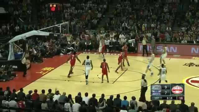 NBA: Jeremy Lin Scores 13 Points in 16 Minutes - NBA Global Games