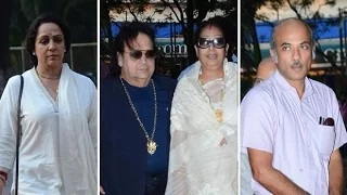 Bollywood Celebs At Ravindra Jain's Prayer Meet