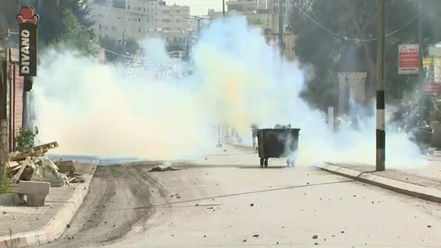 Clashes After Friday Prayers In West Bank
